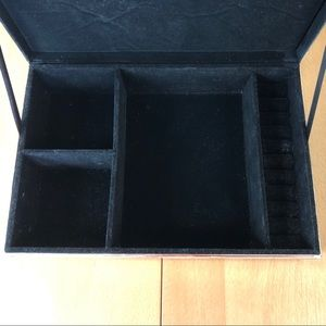 Pottery Barn Storage & Organization - Pottery Barn Silver-Plated Jewelry Box